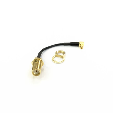 MMCX to RP-SMA Right Angle Pigtail Cable for iFlight the Force VTX (Inner Hole)