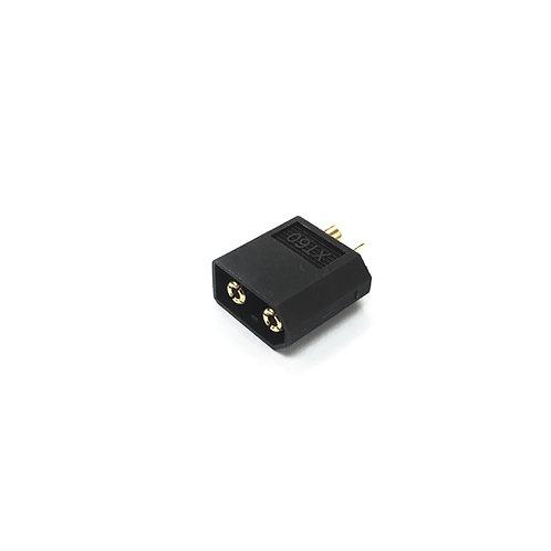 XT60 Battery Connector (Black) - ESC Side (Female)