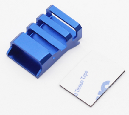 CNC Aluminum ESC Protection Covers (Blue) - Set of 4 pcs