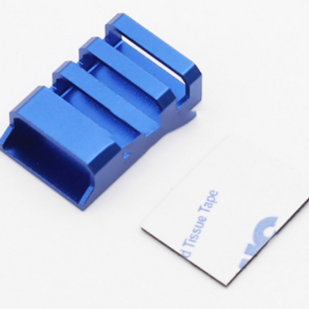 CNC Aluminum ESC Protection Covers (Blue) - 4 pcs