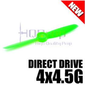 HQProp DD4x4.5G (Green) [DIRECT DRIVE] Normal