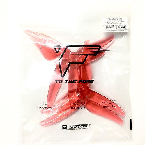 T-Motor T5146 Propeller : CLEAR RED (Set of 4)
