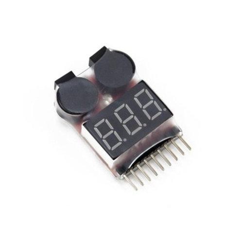 1S-8S Dual Beeper Lipo Alarm / Checker