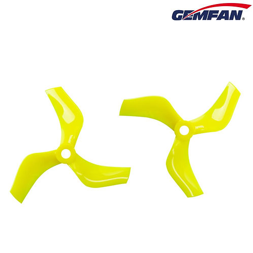 Gemfan D75 (75mm) Ducted Durable 3-Blade CineWhoop Prop : YELLOW