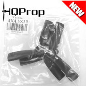 HQProp 4x4.5x3B (Black) [TRIPLE PROP] Normal