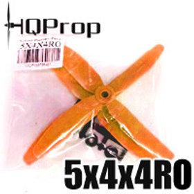 HQProp 5x4x4RO (Orange) QUAD PROP  Reverse