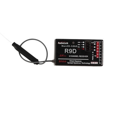 RadioLink R9D 2.4G 9CH DSSS Receiver for RadioLink AT9 AT10 Transmitter