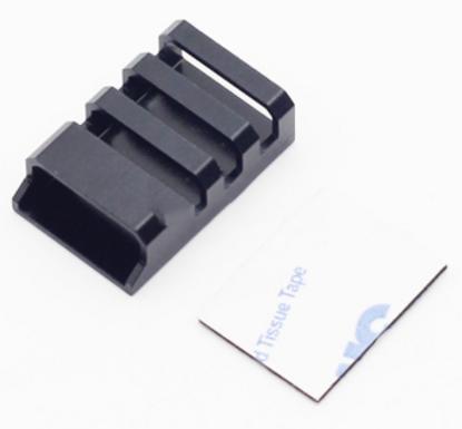 CNC Aluminum ESC Protection Covers (Black) - Set of 4 pcs