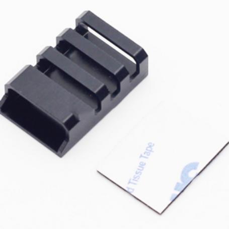 CNC Aluminum ESC Protection Covers (Black) - 4 pcs