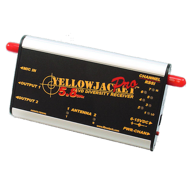 Iftrontech Yellow Jacket Pro AV- Diversity Receiver - 5.8Ghz
