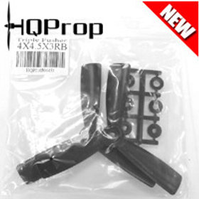 HQProp 4x4.5x3RB (Black) [TRIPLE PROP] Reverse