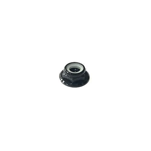 """M5 CCW Aluminium """"Low Profile"""" Lock Nut - Black (1 pc)"""