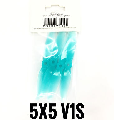 HQProp DP 5x5 V1S (Poly Carbonate)  LIGHT BLUE