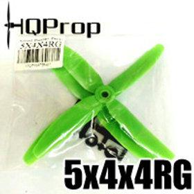 HQProp 5x4x4RG (Green) QUAD PROP  Reverse