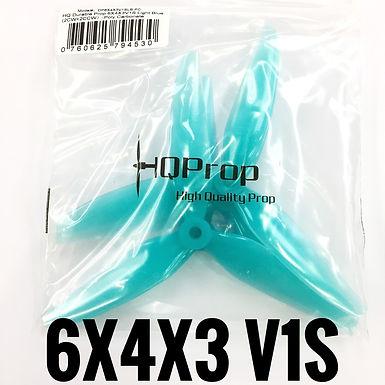 HQProp 6x4x3 V1S  (Poly Carbonate) LIGHT BLUE