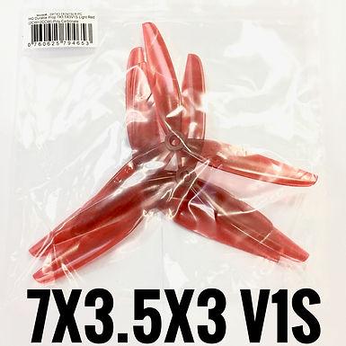 HQProp 7x3.5x3 V1S  (LIGHT RED)