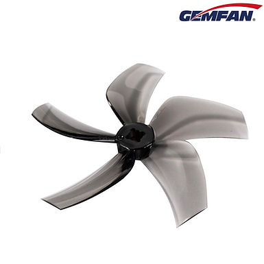 Gemfan D76 (76mm) Ducted Durable 5-Blade CineWhoop Prop : CLEAR GREY