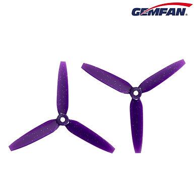 Gemfan 513D Durable 3 Blade Prop - 5.1 inch (Zurple)