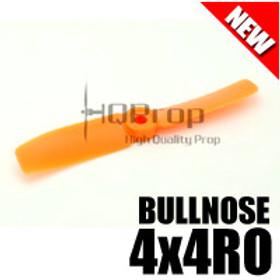 HQProp 4x4RO (Orange) [BULLNOSE]  Reverse