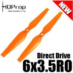 HQProp DD6x3.5RO (Orange) Reverse