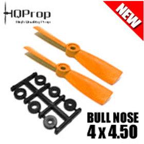 HQProp 4x4.5O (Orange) [BULLNOSE]  Normal