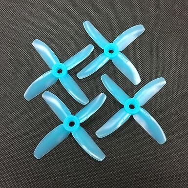 HQProp DP3x3x4PC Poly Carbonate (Light Blue)