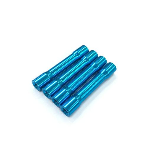 35mm Aluminum Spacer (Blue) OD6mm / OD5mm (4pcs)
