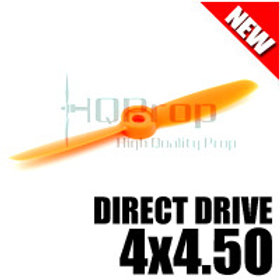 HQProp DD4x4.5O (Orange) [DIRECT DRIVE] Normal