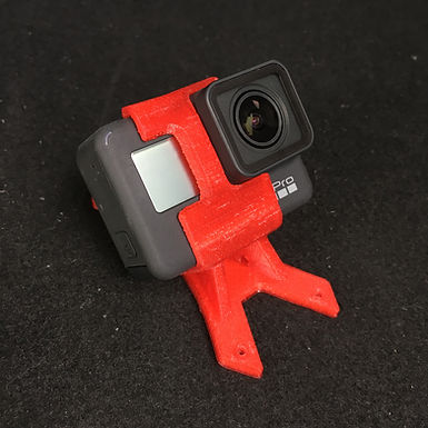 45 Deg : Hero 7 mount for YKZ R226 (TPU 3D printed)