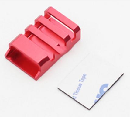 CNC Aluminum ESC Protection Covers (RED) - Set of 4 pcs