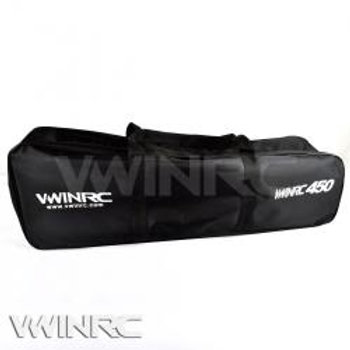 VWINRC Canvas 450 size Helicopter Carry Bag (BLACK)