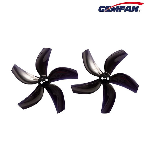 Gemfan D63 / 2.5 inch 5-Blade Duct Propellers 1.5mm Shaft (8 pcs) - BLACK