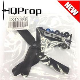 HQProp 4x4x3RB (Black) [TRIPLE PROP] Reverse