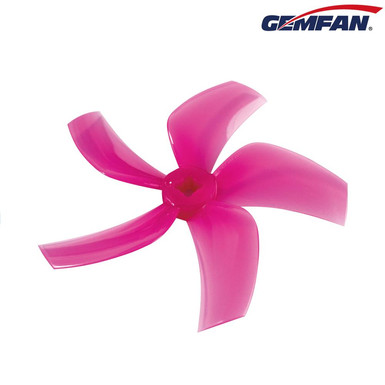 Gemfan D76 (76mm) Ducted Durable 5-Blade CineWhoop Prop : PINK