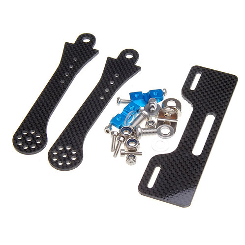 CNC Carbon Fiber Monitor Folding Bracket