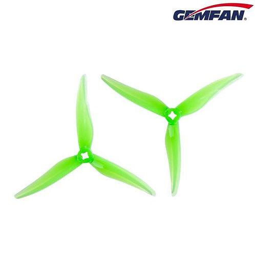 "Gemfan Hurricane SL 5125 Tri-Blade 5"" Prop - Clear Green"