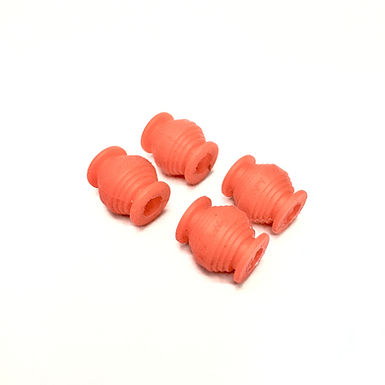 Anti-Vibration Rubber Damper Balls - RED (4pcs)