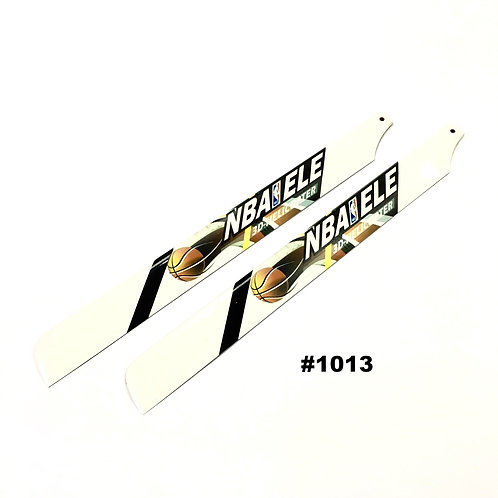 """325mm Fiber Glass Blades for 450-size Helicopters (#1013) """"NBA"""""""