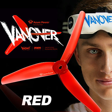 Azure Power 5145 VANOVER LIMITED EDITION Prop : RED