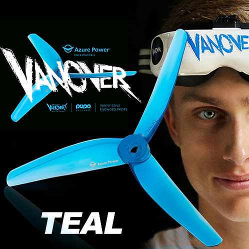 Azure Power 5145 VANOVER LIMITED EDITION Prop : TEAL