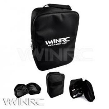 VWINRC Canvas Radio Transmitter Bag(BLACK)