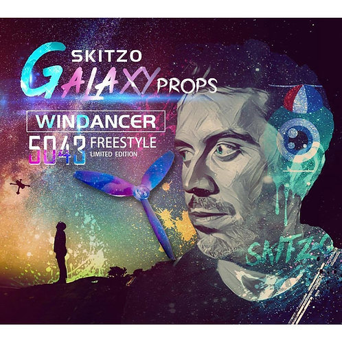 "Gemfan WinDancer 5043 ""Skitzo Galaxy"" Props (4pcs)"