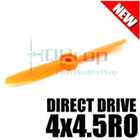 HQProp DD4x4.5RO (Orange) [DIRECT DRIVE] Reverse