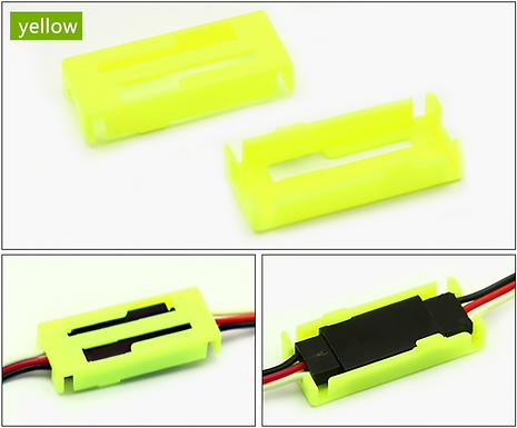 Servo Safety Clip Fastener - YELLOW (1 piece)