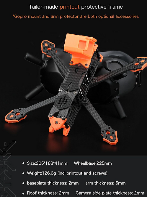 T-Motor FT5 Freestyle Frame Kit