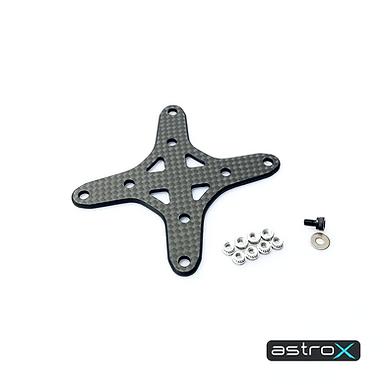 AstroX Switch - Reinforce X Brass 2mm+Alu6061 hardware set Stretched & Freestyle