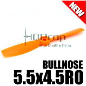 HQProp 5.5x4.5RO (Orange) [BULL-NOSE] Reverse