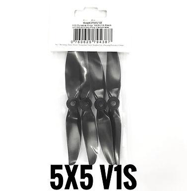 HQProp DP 5x5 V1S (Poly Carbonate)  BLACK