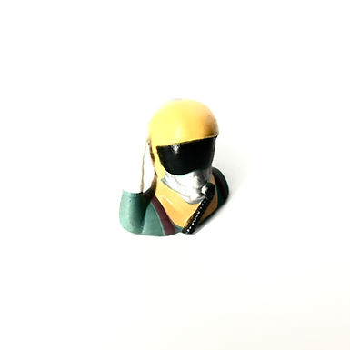 1/10 Jet Pilot Figure - Yellow Helmet (Salute)