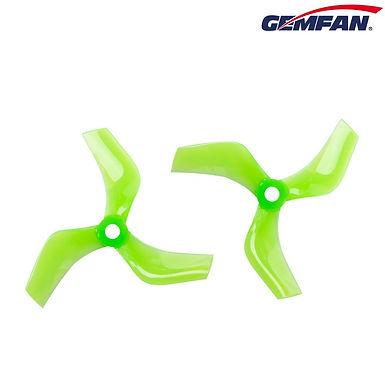 Gemfan D75 (75mm) Ducted Durable 3-Blade CineWhoop Prop : GREEN